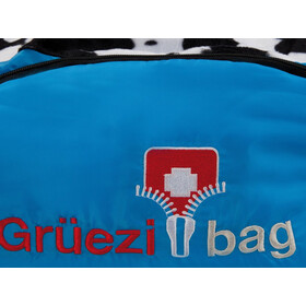 Grüezi-Bag Cow Grow Sleeping Bag Kids, blue